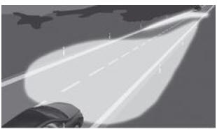 notice d 39 utilisation mercedes benz classe b assistant adaptatif des feux de route eclairage. Black Bedroom Furniture Sets. Home Design Ideas
