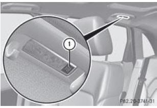 notice d 39 utilisation mercedes benz classe b vue d 39 ensemble de l 39 clairage int rieur. Black Bedroom Furniture Sets. Home Design Ideas