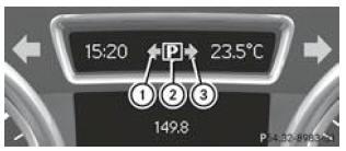 notice d 39 utilisation mercedes benz classe b aide active au stationnement syst mes d 39 aide. Black Bedroom Furniture Sets. Home Design Ideas