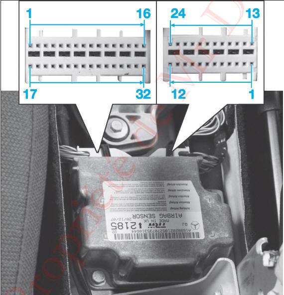 revue technique automobile mercedes benz classe b caract ristiques airbags et. Black Bedroom Furniture Sets. Home Design Ideas