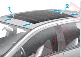 revue technique automobile mercedes benz classe b d pose repose du toit ouvrant lamelles. Black Bedroom Furniture Sets. Home Design Ideas
